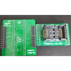 TSOP48 /40/32-DIP40 NAND Socket 0.5mm адаптер для TL866II Plus
